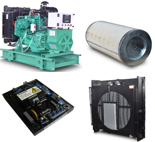 Generator set and Spare parts