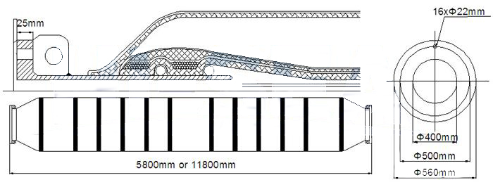 DN400-self-floating-discharge-rubber-hoses