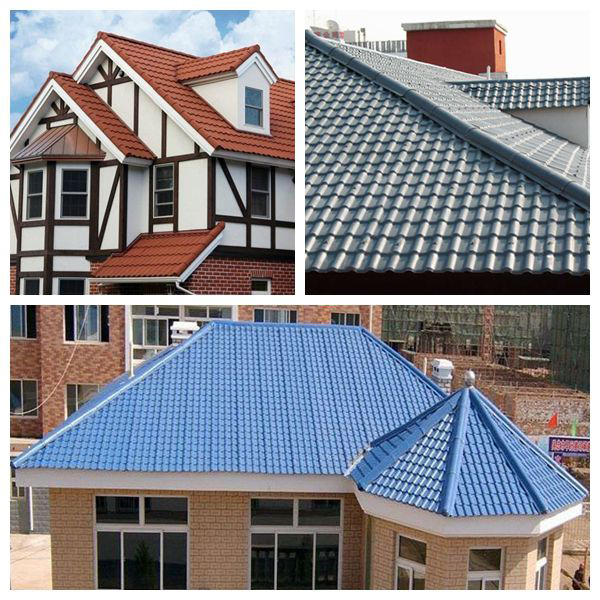Coated Roof Sheet Asa Synthetic Resin Roof Tile Atmc