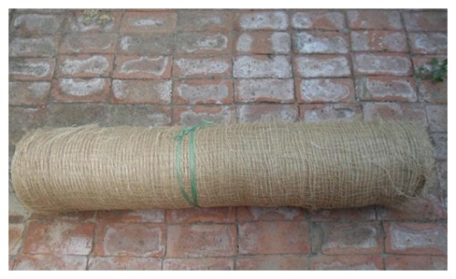 3 to 8 mm, jute geotextile