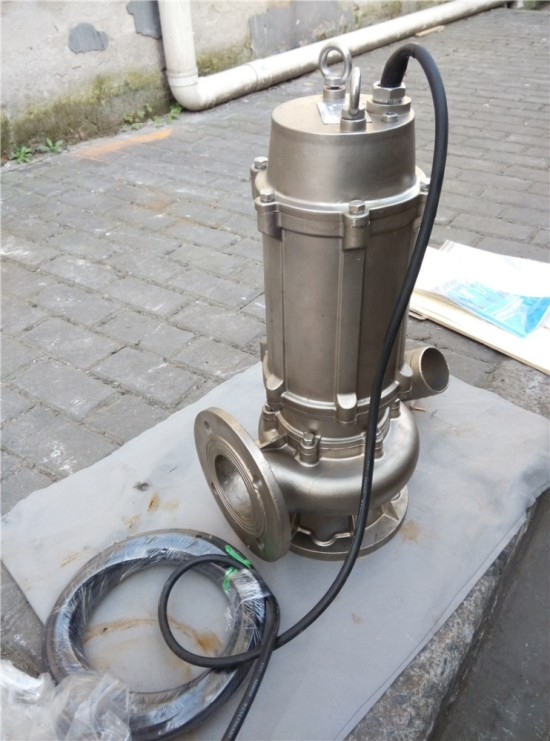 Full-Service-Dirty-water-pump-stainless-steel