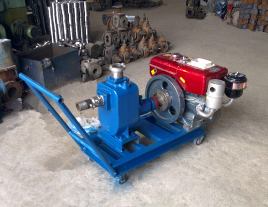 Horizontal-electric-self-priming-water-pump-centrifugal