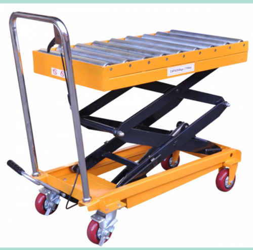 portable folding hydraulic lifter