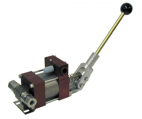 hand operated hydraulic pump