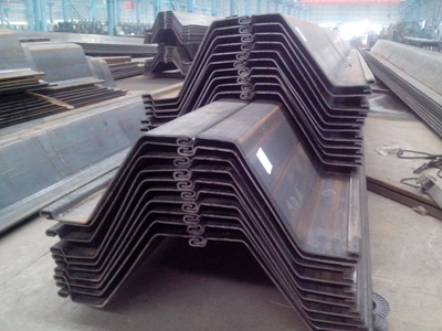 Cold-formed Z type steel sheet pile
