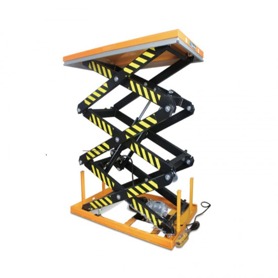 Three scissor electric lift table