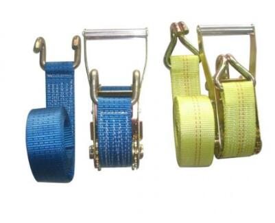 Webbing Belt With Ratchet Buckle