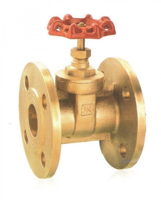 Brass Flanged 2 inch gate valve