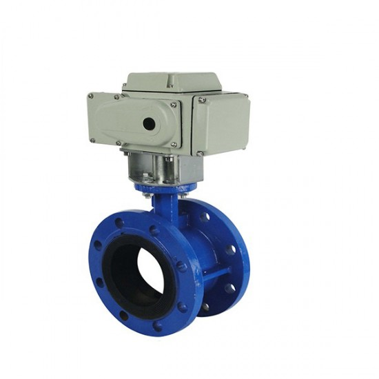 DN200 lug type flange butterfly valves