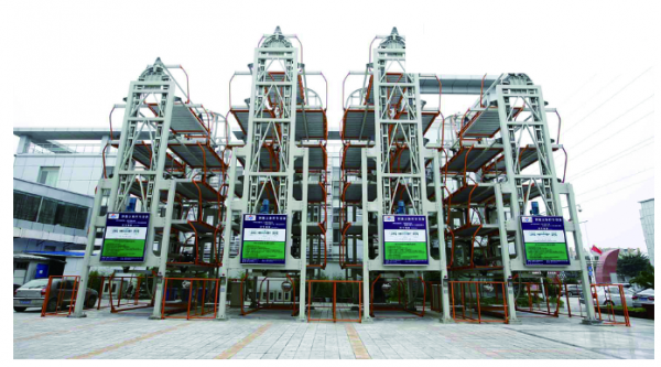Vertical Rotary Type Parking System