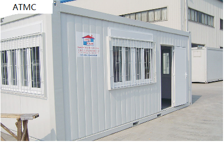 20ft Special window container house