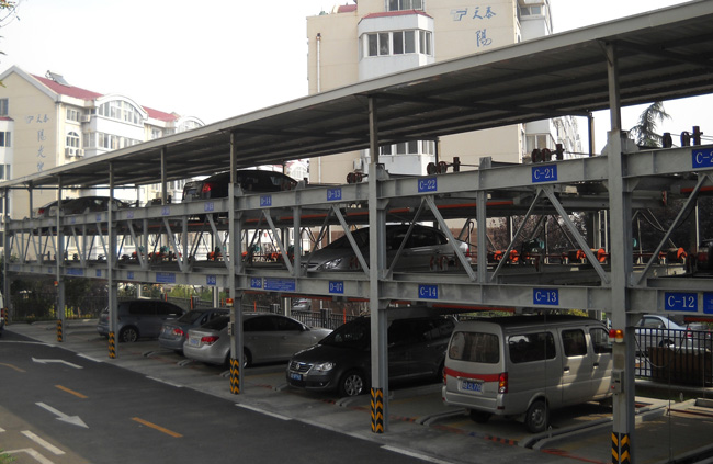 Three-level Automatic Parking System