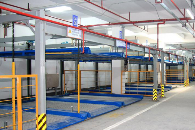 Double-Layer Puzzle Parking System