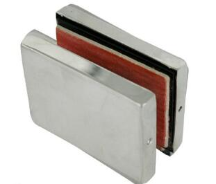 Wall Square Glass Clamp